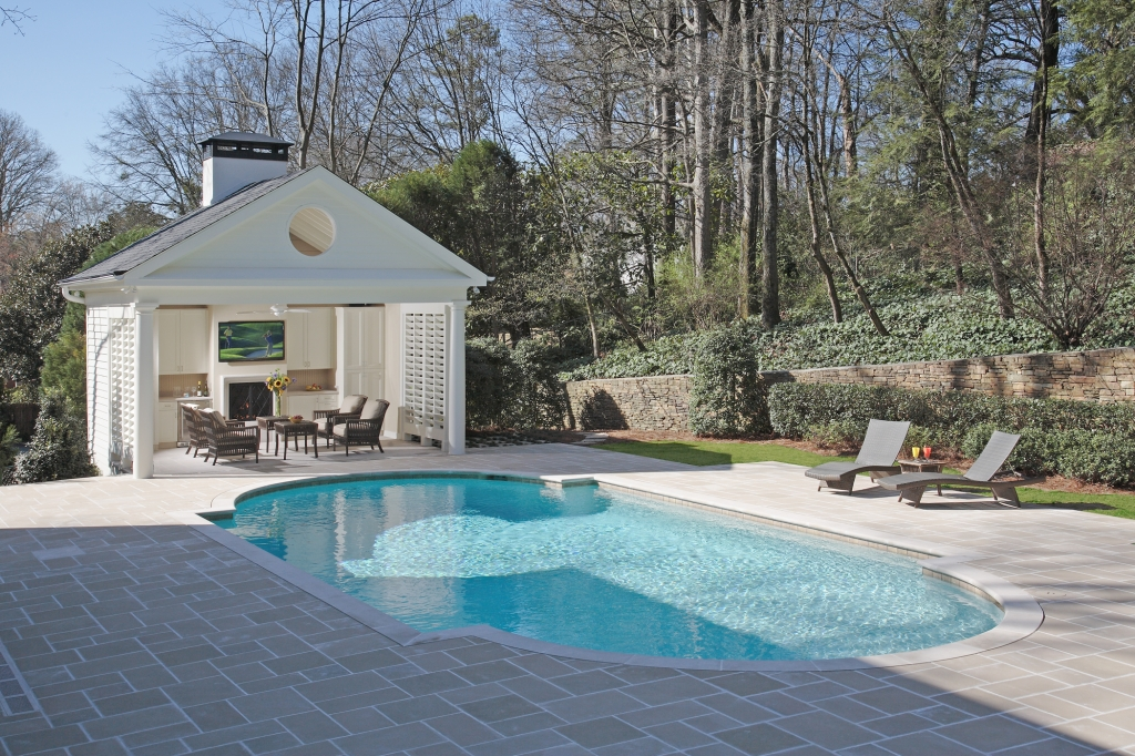 Buckhead-Limestone-Pool-and-Cabana-Paces-Construction-Atlanta