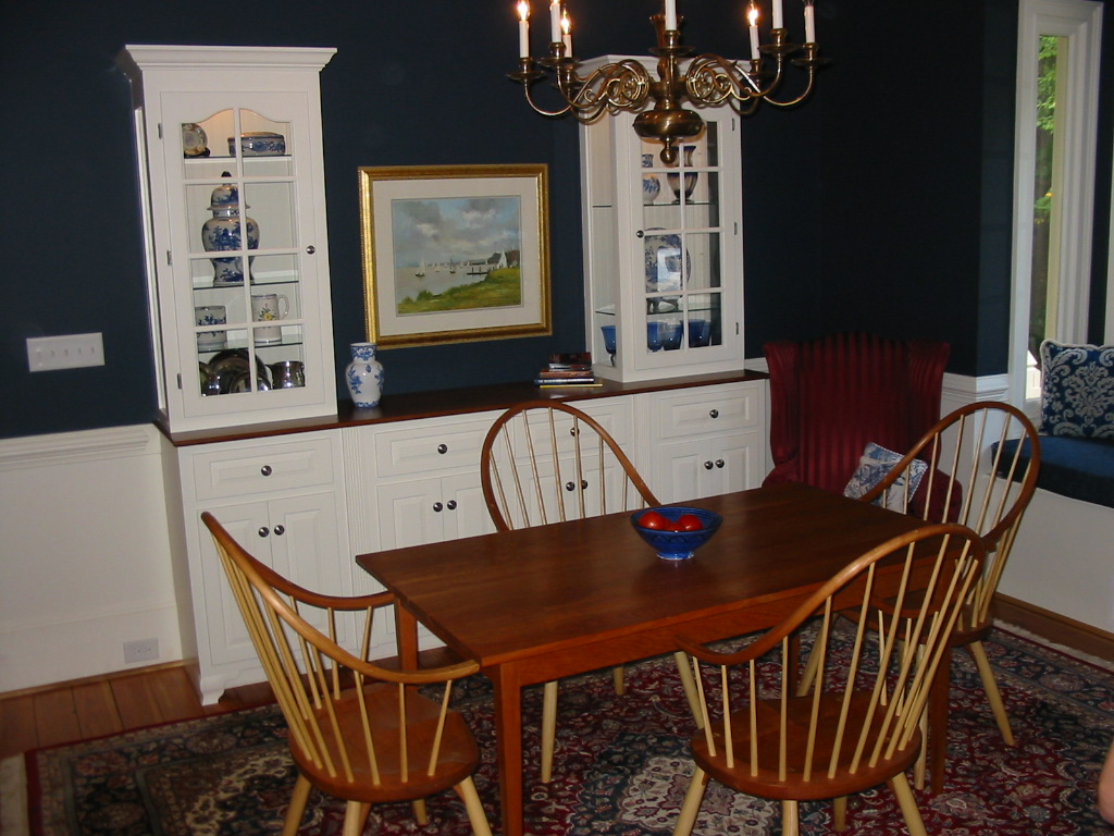 Sandy-Springs-Cherry-Table-and Cabinets-by-Paces-Construction-Atlanta
