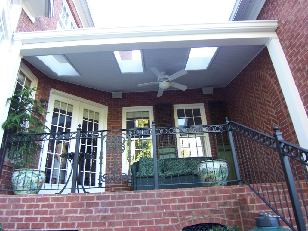 Vinings-Atlanta-Covered-Porch-Skylights-Paces-Construction-Co