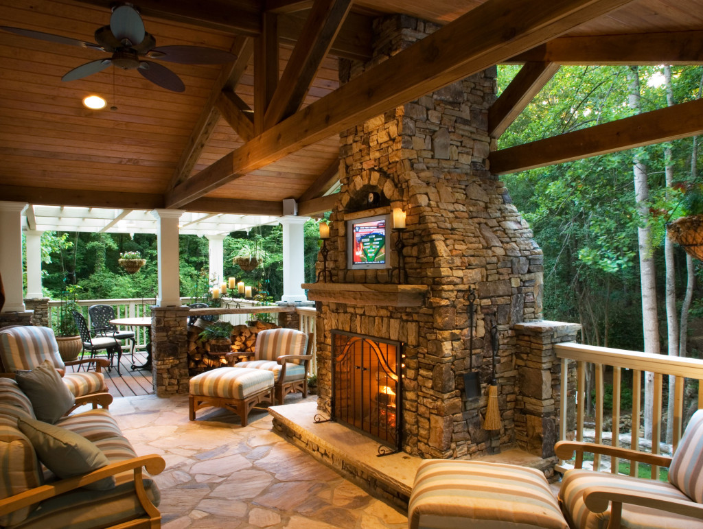5 Shades Of Buckhead Covered Decks Paces Construction